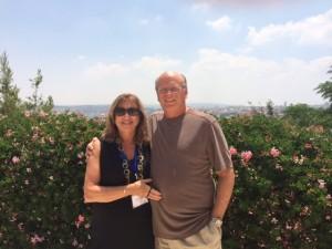Lynnda and Larry in Jerusalem