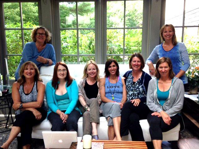 Group at Dani Shapiro Retreat